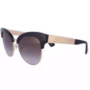 Moschino | Black Cat Eye Sunglasses New